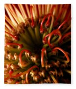 Flower Hawaiian Protea Fleece Blanket