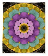 Flower In Paradise Fleece Blanket