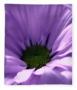 Flower Macro Beauty 4 Fleece Blanket