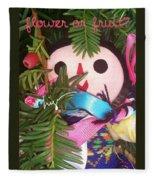 Flower Or Fruit Fleece Blanket