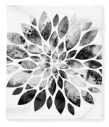 Flower Painting 3 Fleece Blanket
