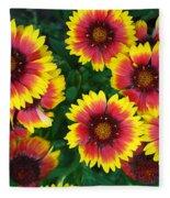 Flower Patch Fleece Blanket