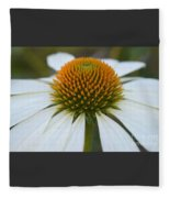 Flower Power Sacred Geometry Fleece Blanket