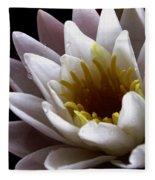 Flower Waterlily Fleece Blanket