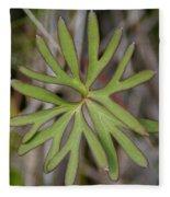 Flowerantlers Fleece Blanket