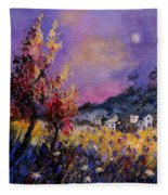 Flowered Landscape 569070 Fleece Blanket