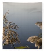 Flowering Cane Plant Fleece Blanket