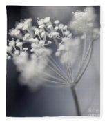Flowering Dill Cluster Fleece Blanket