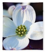 Flowering Dogwood Fleece Blanket
