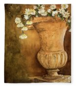 Flowering Urn Fleece Blanket