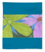 Flowers-13 Fleece Blanket