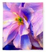 Flowers 31 Fleece Blanket