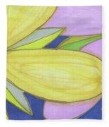 Flowers-5 Fleece Blanket