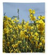 Flowers 7 Fleece Blanket