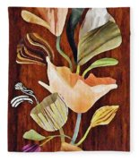 Flowers For Catherine Fleece Blanket