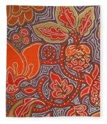 Flowers For Fleet Foxes Fleece Blanket