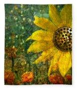 Flowers For Fun Fleece Blanket