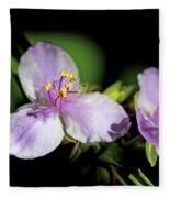 Flowers In Natural Light Fleece Blanket