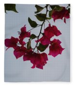 Flowers In The Sky Fleece Blanket