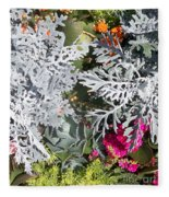 Flowers Of Boca I Fleece Blanket