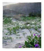 Flowers Of Ocotilla Fleece Blanket