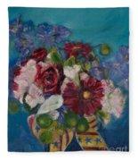 Flowers Of Remembrance Fleece Blanket