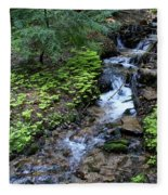 Flowing Creek Fleece Blanket