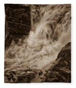 Flowing Force Fleece Blanket