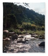 Flowing Nature Fleece Blanket