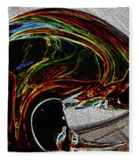 Flow Patterns 3 Fleece Blanket