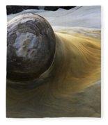 Flowing Rock 1 Fleece Blanket