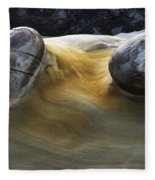 Flowing Rock 4 Fleece Blanket