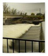 Flowing Waters Fleece Blanket