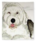 Fluffy Murphy Fleece Blanket