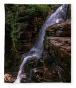 Flume Gorge Waterfall Fleece Blanket