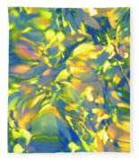 Fluttering Of Color Fleece Blanket
