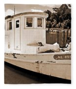 Fly Creek Work Boat Fleece Blanket