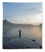 Fly Fishing 2 Fleece Blanket