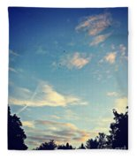 Fly Like A Bird To The Lord Fleece Blanket