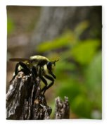 Fly On Mountain Fleece Blanket