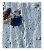 Fly On The Wall Fleece Blanket
