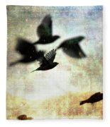Fly With The Mood Fleece Blanket