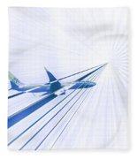 Flying Blind 2 Fleece Blanket