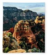 Flying Buttress 04-227 Fleece Blanket