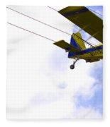 Flying By Wire 5 Of 6 Fleece Blanket