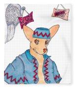 Flying Chihuahua's Fleece Blanket