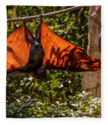 Flying Foxes Fleece Blanket