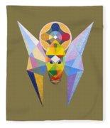 Flying Solar Magus Fleece Blanket