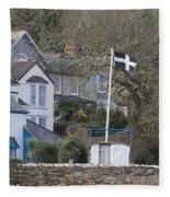Flying The Flag For Cornwall Fleece Blanket