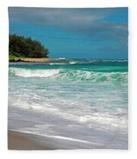 Foamy Surf Fleece Blanket